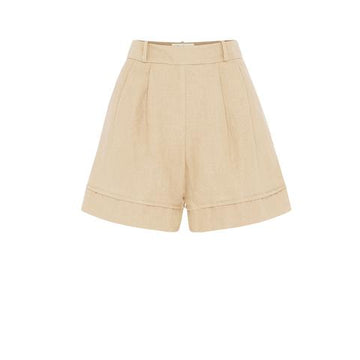 RESTOCKED Hannah Shorts in Almond