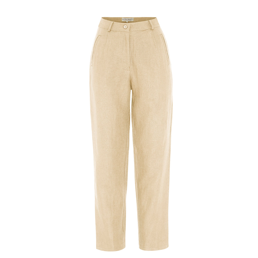 Isabel Pants in Almond