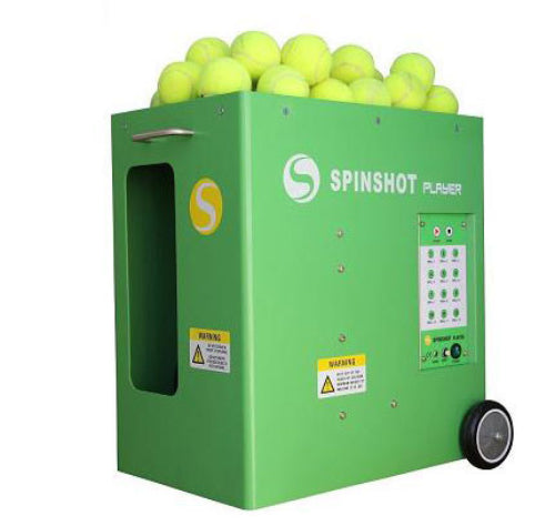 Tennis Ball Machines: The Spinshot Player Phone App