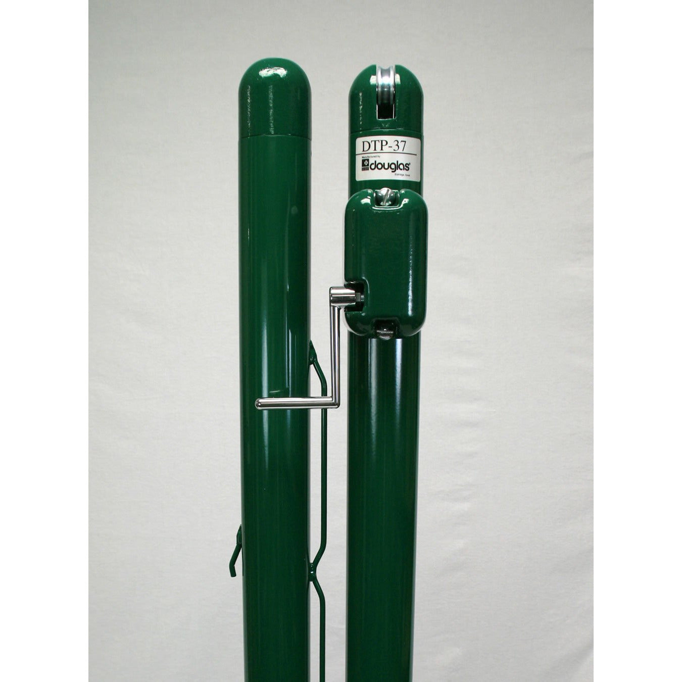 Douglas DTP-37 Tennis Posts, 3″ OD Green