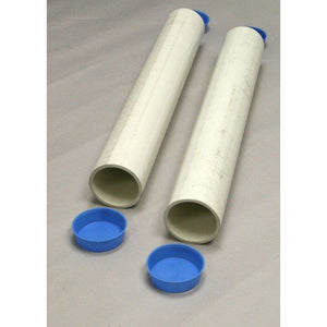 Douglas GS-24RD PVC Ground Sleeves 24″ Long for 2-7/8″ OD Posts