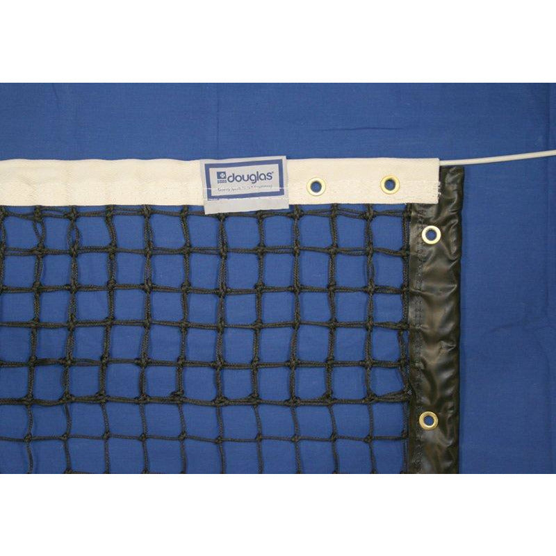 Douglas TN-28DM Tennis Net, 3.5mm Double Mesh with Polyester Web Headband