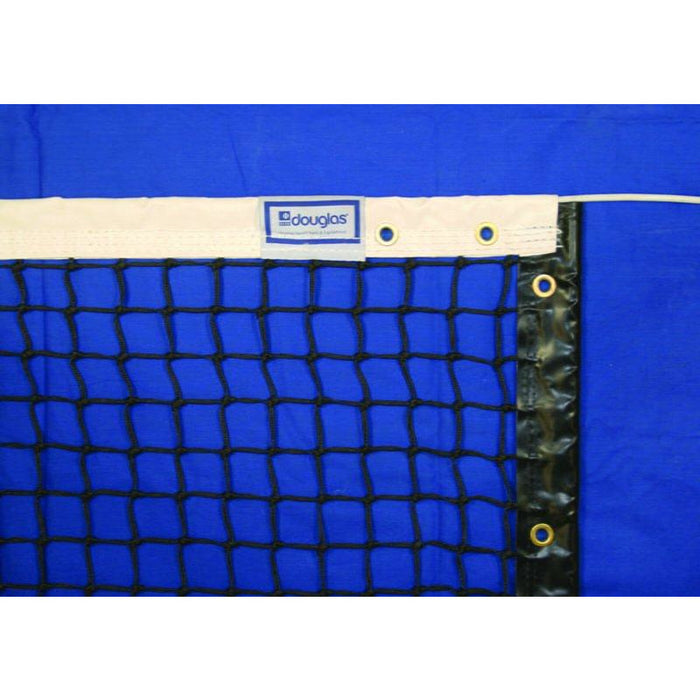 Douglas TN-30 Tennis Net, 3.0mm with Single Ply Vinyl Headband