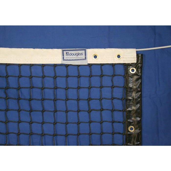 Douglas TN-40 Tennis Net, 3.5mm with Vinyl Headband, Made by Douglas® in USA