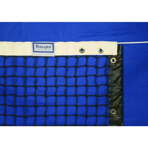 Douglas TN-45 Tennis Net, 3.5mm with Polyester Headband, Made by Douglas® in USA