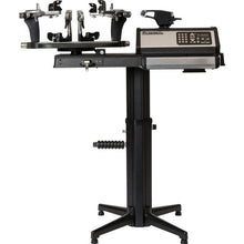 Gamma 7900 Quick Mount Self Centering 6-PT Tennis Stringing Machine Highest Elevation