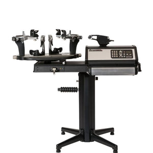 Gamma 7900 Quick Mount Self Centering 6-PT Tennis Stringing Machine Lowest Elevation