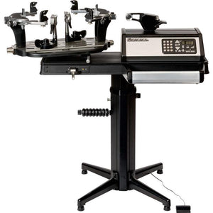 Gamma 7900 Quick Mount Self Centering 6-PT Tennis Stringing Machine Tennis Machine Pros