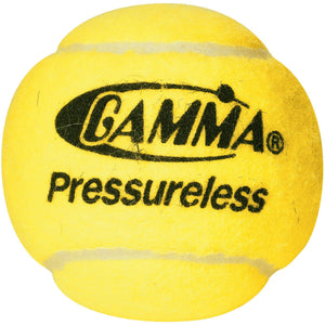 GAMMA Pressureless Practice Tennis Balls - 60 Ball Pack