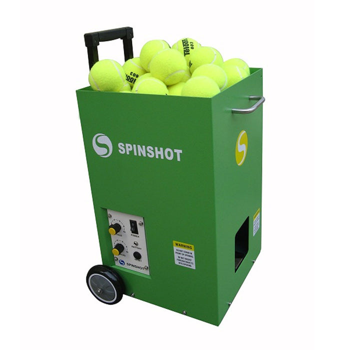 Spinshot Lite Tennis Ball Machine with Horizontal Oscillation