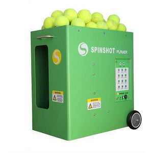 Spinshot Player Tennis Ball Machine with Phone Remote App Supported Tennis Machine Pros