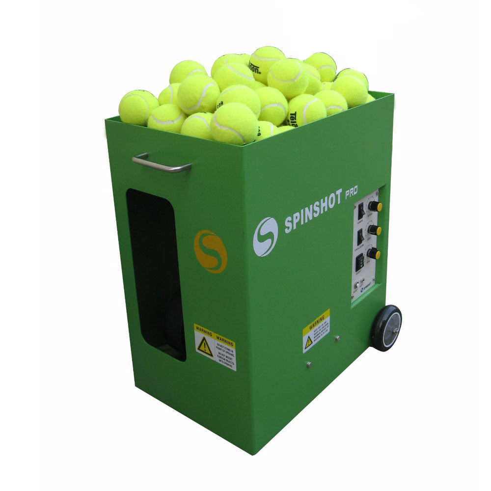 Spinshot Pro Portable Training Partner Tennis Ball Machine