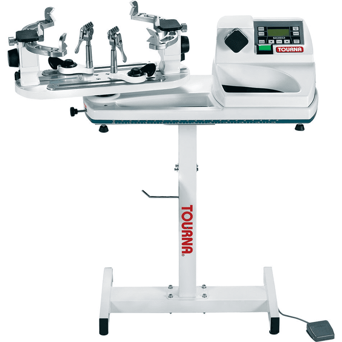 Tourna 600-ES Constant Pull Electric Stringing Machine with Floor Stand