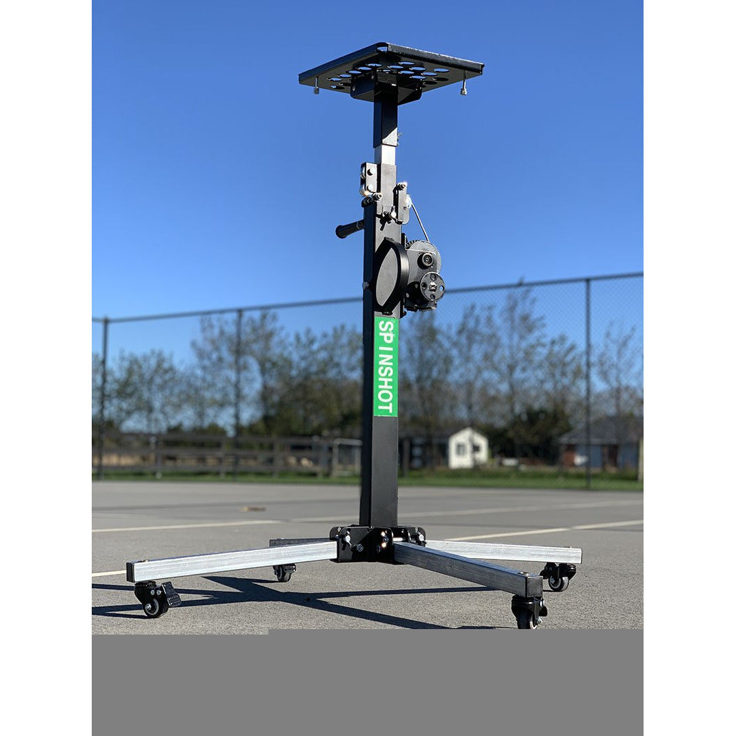 Spinshot Service Stand for Tennis Ball Machines