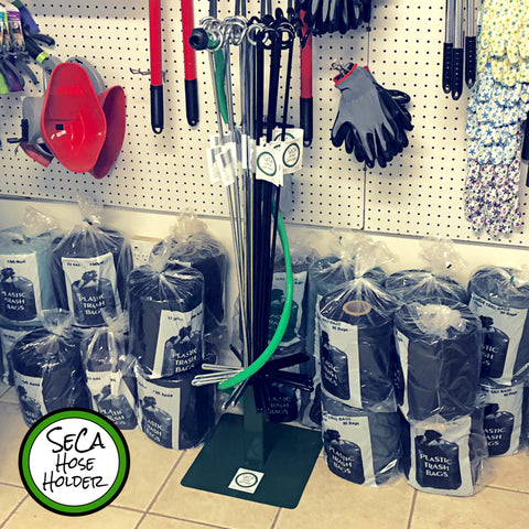 Wholesale Green Metal Display Stand - SeCa Hose Holder