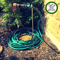Hands-Free, Hassle Free Water Hose Holder for the Home & Garden; Gardening, Garden Tools