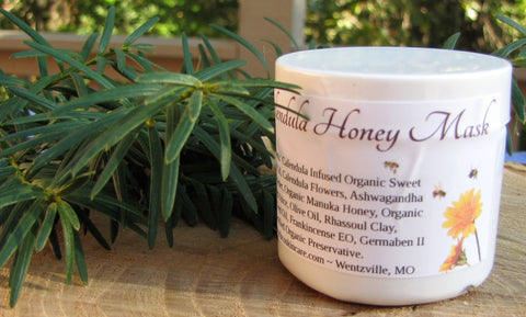 Calendula and Honey Mask **NOW WITH ASHWAGANDHA AND MANUKA HONEY!! **