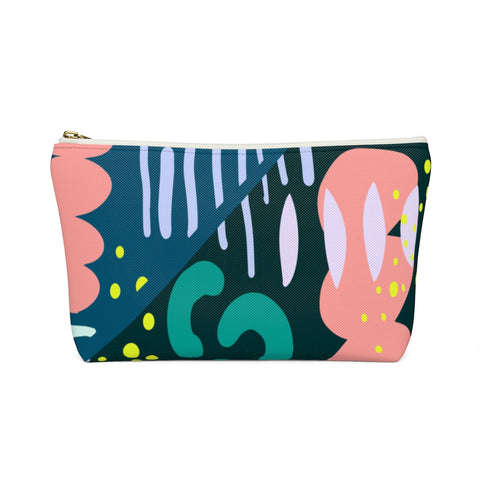 Under the Sea Abstract Zipper Pouch