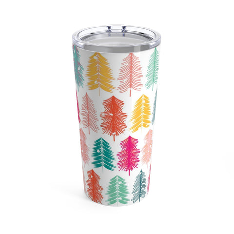 Bottle Brush Tree Stainless Steel 20oz Tumbler