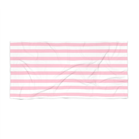 Blush Cabana Stripe Beach Towel