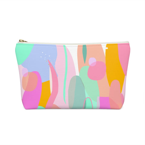 Pastel Organic Shapes Zipper Pouch