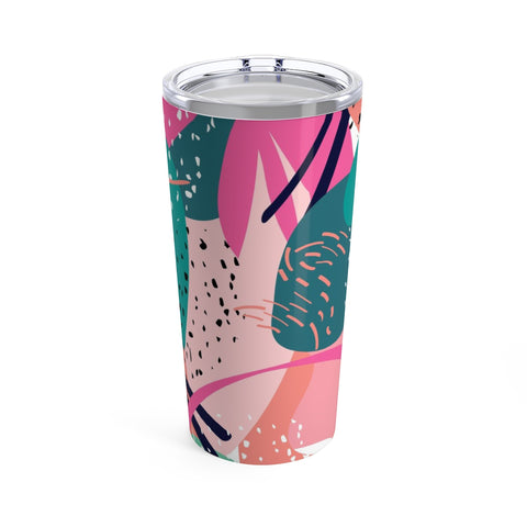 Abstract Cactus Print Stainless Steel 20oz Tumbler