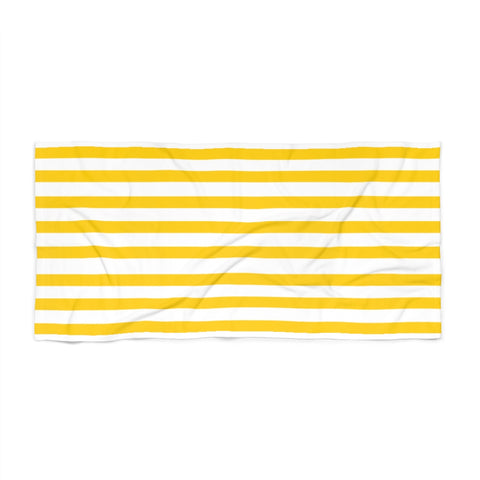 Sunshine Cabana Stripe Beach Towel