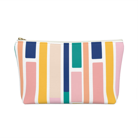 Colorful Brick Pattern Zipper Pouch