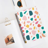 Colorful Terrazzo Notebook - Ruled Line