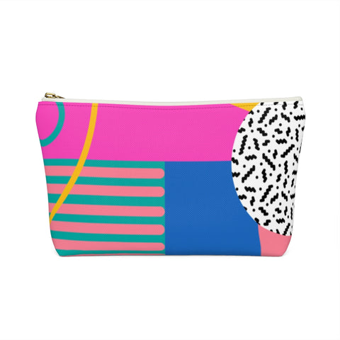 Pink Totally 80's Zipper Pouch