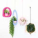 Arch Hanging Wood Planter Stand Craft Kit