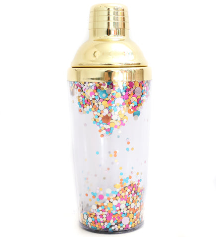 Confetti Cocktail Shaker