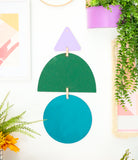 DIY Geometric Wall Hanging Kit