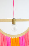 Half Circle Pendant Light Kit