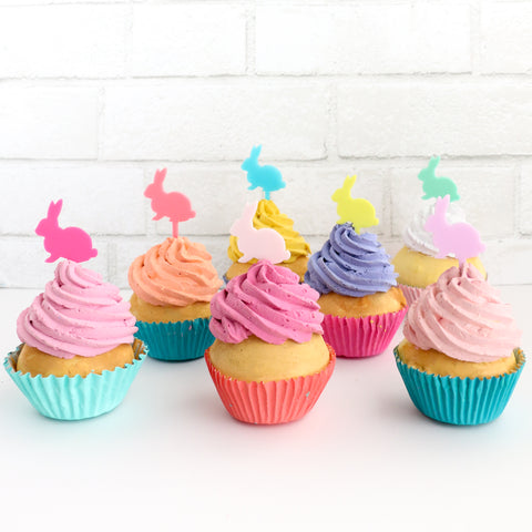 Bunny Rabbit Cupcake Toppers