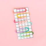 Acrylic Paper Clips - Ombre Assortment