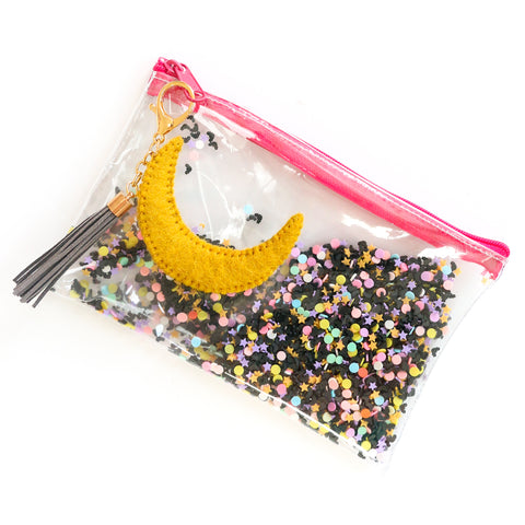 Halloween Sprinkle Filled Clutch
