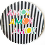 Halloween Amok Small Paper Plate Pack