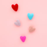Felt Heart Magnet Set
