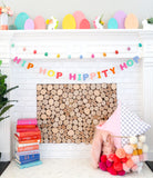Speckled Egg Felt Garland