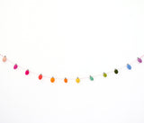 Light Bulb Felt Garland