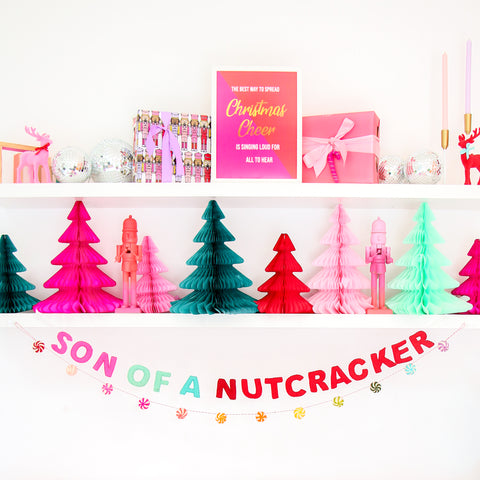Son of a Nutcracker Felt Garland
