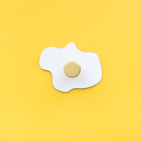 Sunny Side Up Egg DIY Wall Hook Kit