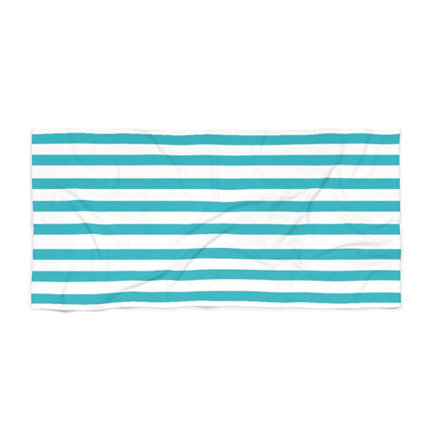 Pool Cabana Stripe Beach Towel