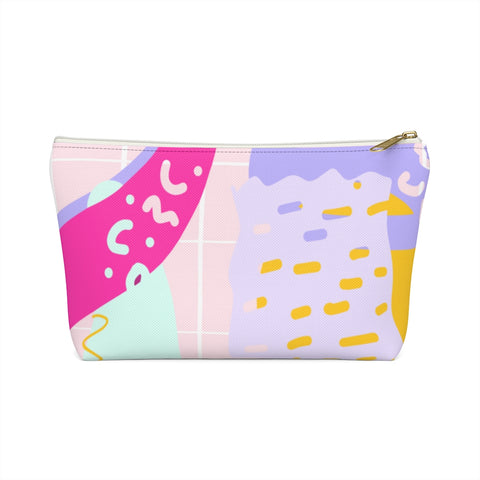80s Abstract #1 Zipper Pouch