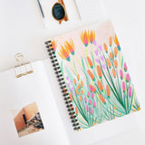 Wildflower Notebook - Ruled Line
