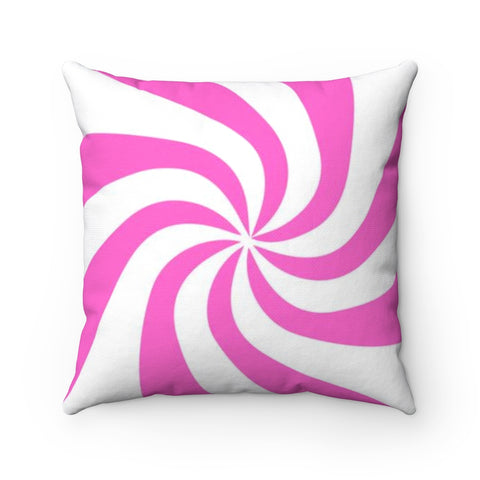 Copy of Candy Cane Square Pillow Case - No Insert