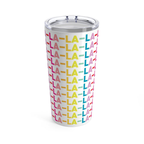 Falalalala Holiday Stainless Steel 20oz Drink Tumbler