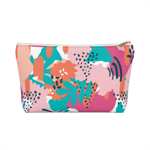 Modern Tropical Zipper Pouch
