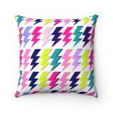 Struck by Love - Square Pillow Case - No Insert